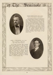 Page 12, 1916 Edition, University of Florida - Tower Seminole Yearbook (Gainesville, FL) online yearbook collection