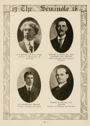 Page 13, 1916 Edition, University of Florida - Tower Seminole Yearbook (Gainesville, FL) online yearbook collection
