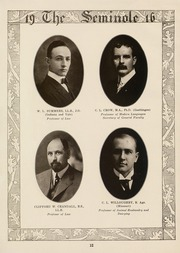 Page 14, 1916 Edition, University of Florida - Tower Seminole Yearbook (Gainesville, FL) online yearbook collection