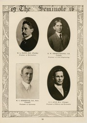 Page 15, 1916 Edition, University of Florida - Tower Seminole Yearbook (Gainesville, FL) online yearbook collection
