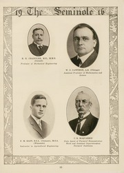 Page 17, 1916 Edition, University of Florida - Tower Seminole Yearbook (Gainesville, FL) online yearbook collection