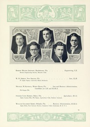 Page 58, 1929 Edition, University of Florida - Tower Seminole Yearbook (Gainesville, FL) online yearbook collection