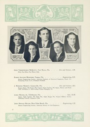 Page 61, 1929 Edition, University of Florida - Tower Seminole Yearbook (Gainesville, FL) online yearbook collection