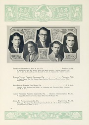 Page 63, 1929 Edition, University of Florida - Tower Seminole Yearbook (Gainesville, FL) online yearbook collection