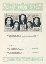 Page 65, 1929 Edition, University of Florida - Tower Seminole Yearbook (Gainesville, FL) online yearbook collection