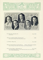 Page 66, 1929 Edition, University of Florida - Tower Seminole Yearbook (Gainesville, FL) online yearbook collection