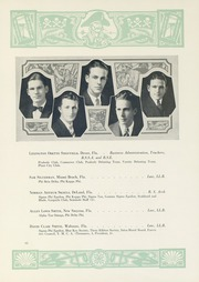 Page 69, 1929 Edition, University of Florida - Tower Seminole Yearbook (Gainesville, FL) online yearbook collection