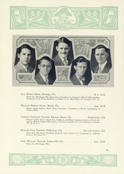Page 70, 1929 Edition, University of Florida - Tower Seminole Yearbook (Gainesville, FL) online yearbook collection