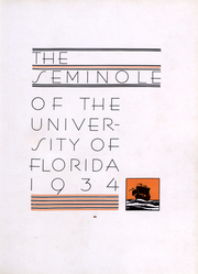 Page 5, 1934 Edition, University of Florida - Tower Seminole Yearbook (Gainesville, FL) online yearbook collection