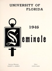 Page 7, 1946 Edition, University of Florida - Tower Seminole Yearbook (Gainesville, FL) online yearbook collection