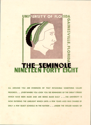 Page 5, 1948 Edition, University of Florida - Tower Seminole Yearbook (Gainesville, FL) online yearbook collection
