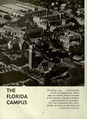 Page 10, 1962 Edition, University of Florida - Tower Seminole Yearbook (Gainesville, FL) online yearbook collection