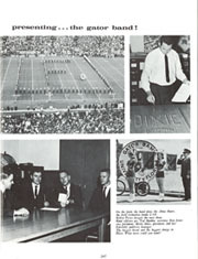 Page 249, 1965 Edition, University of Florida - Tower / Seminole Yearbook (Gainesville, FL) online yearbook collection