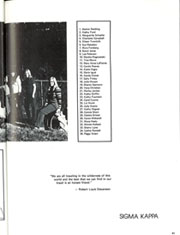 Page 43, 1972 Edition, University of Florida - Tower / Seminole Yearbook (Gainesville, FL) online yearbook collection
