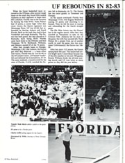 Page 86, 1983 Edition, University of Florida - Tower Seminole Yearbook (Gainesville, FL) online yearbook collection