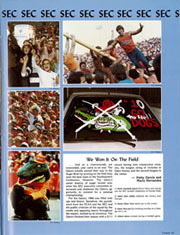 Page 111, 1985 Edition, University of Florida - Tower / Seminole Yearbook (Gainesville, FL) online yearbook collection