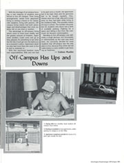 Page 287, 1985 Edition, University of Florida - Tower / Seminole Yearbook (Gainesville, FL) online yearbook collection
