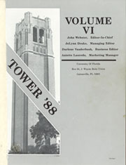 Page 3, 1988 Edition, University of Florida - Tower Seminole Yearbook (Gainesville, FL) online yearbook collection