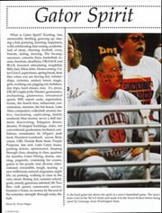 Page 8, 1999 Edition, University of Florida - Tower Seminole Yearbook (Gainesville, FL) online yearbook collection