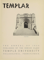 Page 4, 1935 Edition, Temple University - Templar Yearbook (Philadelphia, PA) online yearbook collection