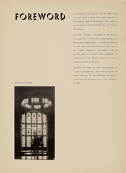 Page 5, 1935 Edition, Temple University - Templar Yearbook (Philadelphia, PA) online yearbook collection