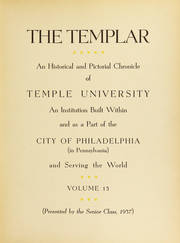 Page 9, 1937 Edition, Temple University - Templar Yearbook (Philadelphia, PA) online yearbook collection
