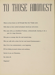 Page 13, 1938 Edition, Temple University - Templar Yearbook (Philadelphia, PA) online yearbook collection
