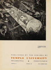 Page 7, 1938 Edition, Temple University - Templar Yearbook (Philadelphia, PA) online yearbook collection