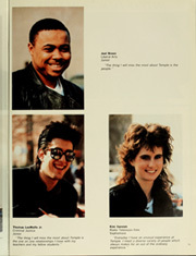 Page 17, 1987 Edition, Temple University - Templar Yearbook (Philadelphia, PA) online yearbook collection