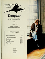 Page 5, 1993 Edition, Temple University - Templar Yearbook (Philadelphia, PA) online yearbook collection