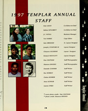 Page 7, 1997 Edition, Temple University - Templar Yearbook (Philadelphia, PA) online yearbook collection