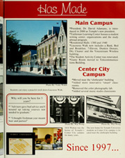 Page 11, 2002 Edition, Temple University - Templar Yearbook (Philadelphia, PA) online yearbook collection