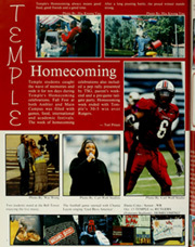 Page 12, 2002 Edition, Temple University - Templar Yearbook (Philadelphia, PA) online yearbook collection