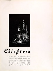 Page 7, 1947 Edition, University High School - Chieftain Yearbook (Los Angeles, CA) online yearbook collection