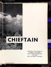 Page 7, 1954 Edition, University High School - Chieftain Yearbook (Los Angeles, CA) online yearbook collection