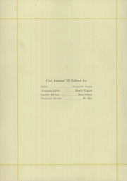 Page 6, 1932 Edition, Huron High School - Tiger Yearbook (Huron, SD) online yearbook collection
