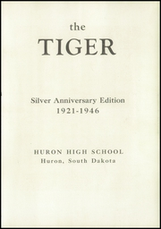 Page 7, 1946 Edition, Huron High School - Tiger Yearbook (Huron, SD) online yearbook collection