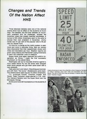 Page 8, 1977 Edition, Huron High School - Tiger Yearbook (Huron, SD) online yearbook collection