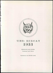 Page 9, 1933 Edition, Brookings High School - Bobcat Yearbook (Brookings, SD) online yearbook collection