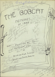 Page 5, 1947 Edition, Brookings High School - Bobcat Yearbook (Brookings, SD) online yearbook collection