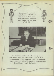 Page 6, 1947 Edition, Brookings High School - Bobcat Yearbook (Brookings, SD) online yearbook collection