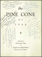 Page 7, 1944 Edition, Rapid City Central High School - Pine Cone Yearbook (Rapid City, SD) online yearbook collection