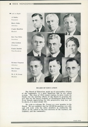 Page 13, 1935 Edition, Washington High School - Warrior Yearbook (Sioux Falls, SD) online yearbook collection