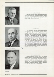 Page 14, 1935 Edition, Washington High School - Warrior Yearbook (Sioux Falls, SD) online yearbook collection