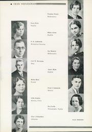 Page 17, 1935 Edition, Washington High School - Warrior Yearbook (Sioux Falls, SD) online yearbook collection