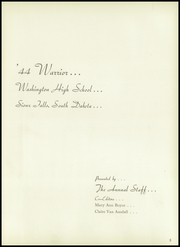 Page 7, 1944 Edition, Washington High School - Warrior Yearbook (Sioux Falls, SD) online yearbook collection