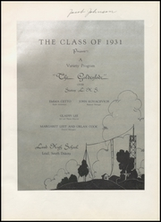 Page 5, 1931 Edition, Lead High School - Goldenlode Yearbook (Lead, SD) online yearbook collection