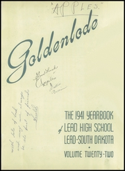 Page 3, 1941 Edition, Lead High School - Goldenlode Yearbook (Lead, SD) online yearbook collection