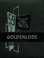 Lead High School - Goldenlode Yearbook (Lead, SD) online yearbook collection, 1959 Edition, Page 1