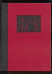 1934 Edition, Watertown High School - Arrow Yearbook (Watertown, SD)